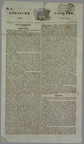 Goessche Courant 1834
