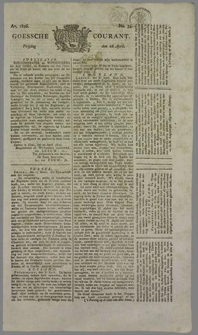 Goessche Courant 1826-04-28