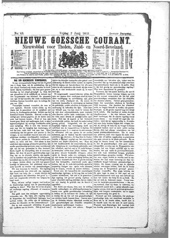 Nieuwe Goessche Courant 1872-06-07