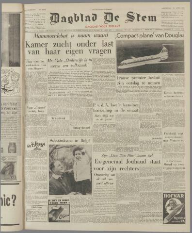 de Stem 1962-04-12