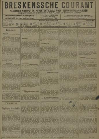 Breskensche Courant 1929-11-27