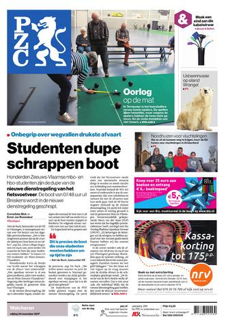 Provinciale Zeeuwse Courant 2017-11-24