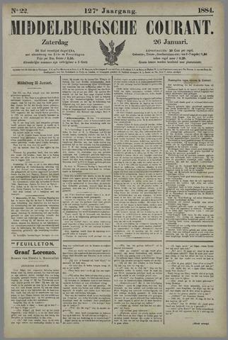 Middelburgsche Courant 1884-01-26