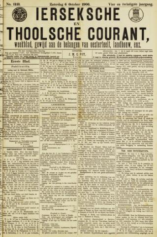Ierseksche en Thoolsche Courant 1906-10-06