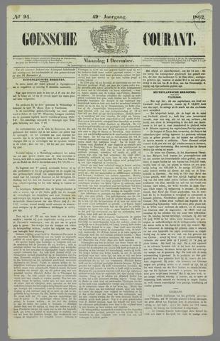 Goessche Courant 1862-12-01