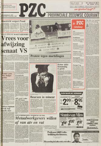 Provinciale Zeeuwse Courant 1987-11-05