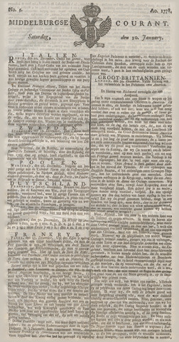 Middelburgsche Courant 1778-01-10