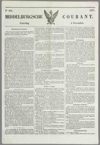 Middelburgsche Courant 1871-11-04