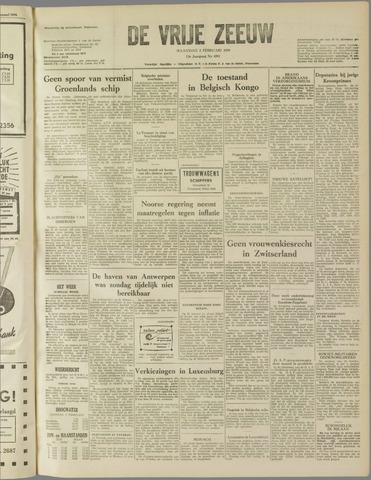 de Vrije Zeeuw 1959-02-02