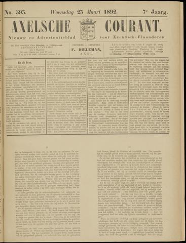 Axelsche Courant 1892-03-23
