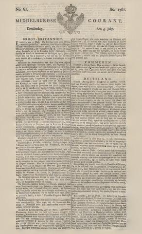 Middelburgsche Courant 1761-07-09