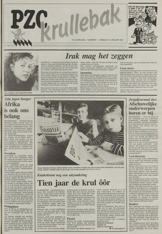 Provinciale Zeeuwse Courant katern Krullenbak (1981-1999) 1991