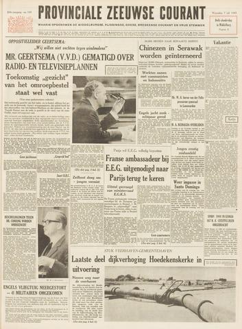 Provinciale Zeeuwse Courant 1965-07-07