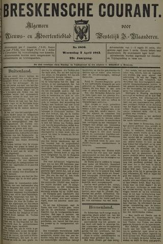 Breskensche Courant 1913-04-02
