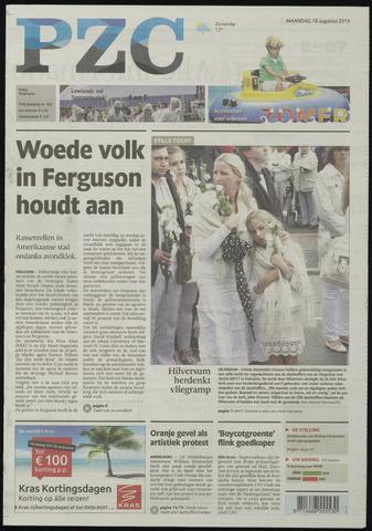 Provinciale Zeeuwse Courant 2014-08-18