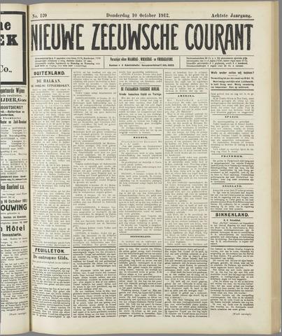 Nieuwe Zeeuwsche Courant 1912-10-10