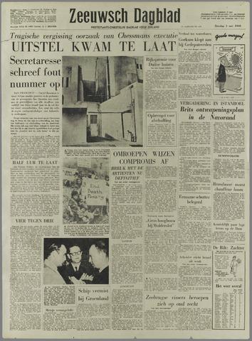 Zeeuwsch Dagblad 1960-05-03
