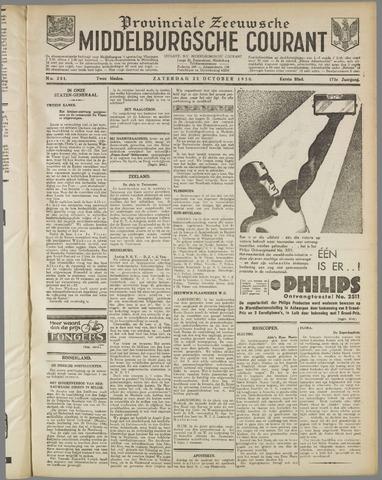 Middelburgsche Courant 1930-10-25