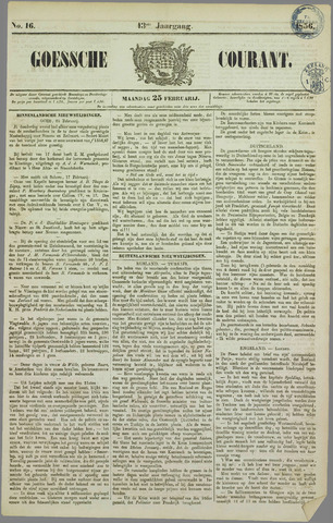 Goessche Courant 1856-02-25