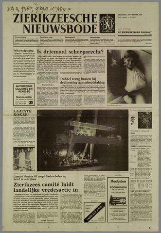 Zierikzeesche Nieuwsbode 1985-11-01