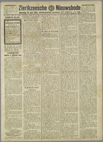 Zierikzeesche Nieuwsbode 1922-06-19