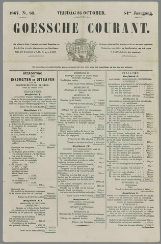 Goessche Courant 1867-10-25