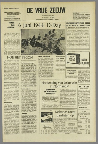 de Vrije Zeeuw 1964-06-06