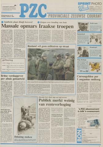 Provinciale Zeeuwse Courant 1991-02-01