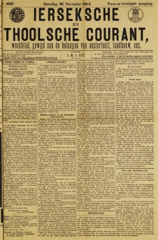 Ierseksche en Thoolsche Courant 1904-11-26