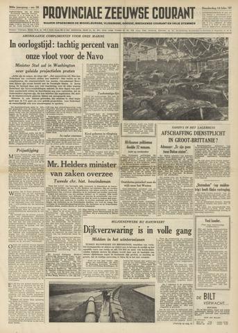 Provinciale Zeeuwse Courant 1957-02-14