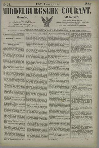 Middelburgsche Courant 1883-01-29