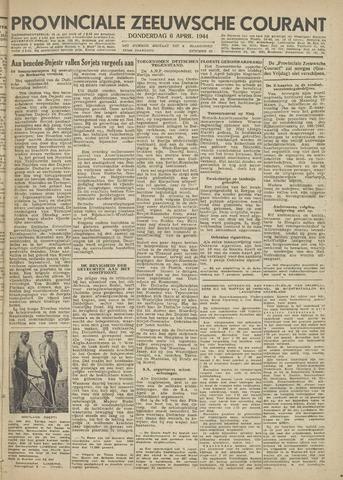Provinciale Zeeuwse Courant 1944-04-06