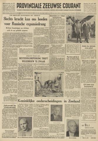 Provinciale Zeeuwse Courant 1957-04-30