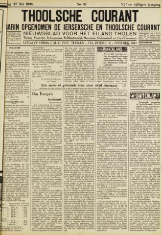 Ierseksche en Thoolsche Courant 1938-05-27