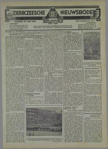 Zierikzeesche Nieuwsbode 1942-06-29