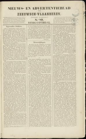 Ter Neuzensche Courant. Algemeen Nieuws- en Advertentieblad voor Zeeuwsch-Vlaanderen / Neuzensche Courant ... (idem) / (Algemeen) nieuws en advertentieblad voor Zeeuwsch-Vlaanderen 1855-09-12