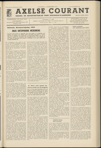 Axelsche Courant 1965-09-18