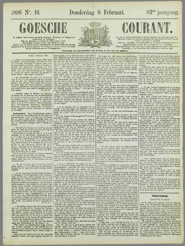 Goessche Courant 1896-02-06
