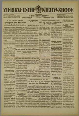 Zierikzeesche Nieuwsbode 1952-11-04
