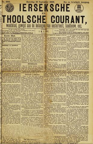 Ierseksche en Thoolsche Courant 1908-09-12