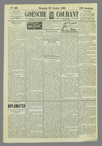 Goessche Courant 1929-10-28