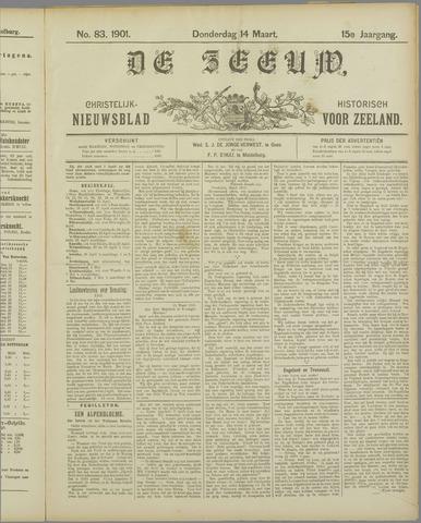 De Zeeuw. Christelijk-historisch nieuwsblad voor Zeeland 1901-03-14