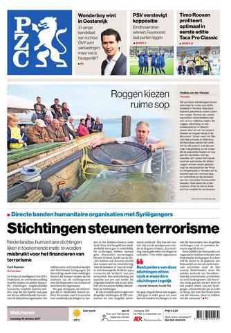 Provinciale Zeeuwse Courant 2017-10-16