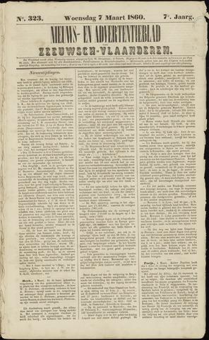 Ter Neuzensche Courant. Algemeen Nieuws- en Advertentieblad voor Zeeuwsch-Vlaanderen / Neuzensche Courant ... (idem) / (Algemeen) nieuws en advertentieblad voor Zeeuwsch-Vlaanderen 1860-03-07