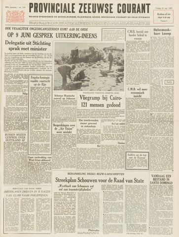 Provinciale Zeeuwse Courant 1965-05-21