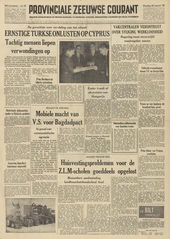 Provinciale Zeeuwse Courant 1958-01-28