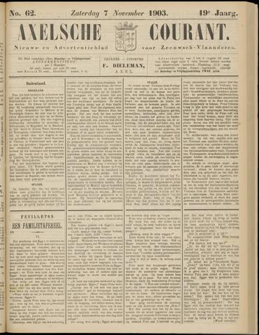 Axelsche Courant 1903-11-07