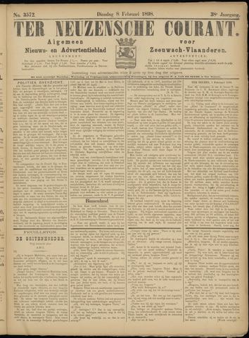 Ter Neuzensche Courant. Algemeen Nieuws- en Advertentieblad voor Zeeuwsch-Vlaanderen / Neuzensche Courant ... (idem) / (Algemeen) nieuws en advertentieblad voor Zeeuwsch-Vlaanderen 1898-02-08