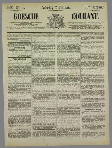 Goessche Courant 1884-02-02
