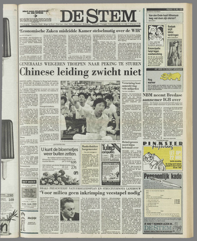 de Stem 1989-05-19